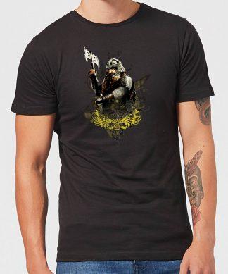 The Lord Of The Rings Gimli Men's T-Shirt - Black - XS - Noir chez Casa Décoration