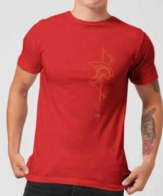 Magic: The Gathering Theros: Beyond Death Asymmetrical Helmet Men's T-Shirt - Red - XS chez Casa Décoration