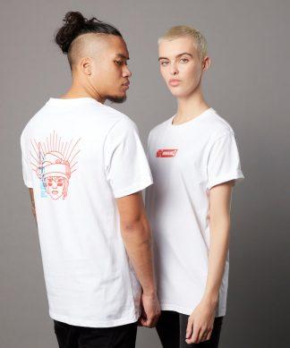 T-shirt Borderlands 3 Moze - Blanc - Unisexe - XS - Blanc chez Casa Décoration