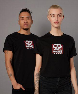 T-shirt Borderlands 3 Skull Logo - Noir - Unisexe - XS - Noir chez Casa Décoration