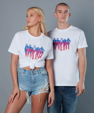 T-shirt Girl Gang Birds of Prey - Blanc - Unisexe - XS chez Casa Décoration
