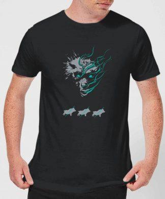 Magic The Gathering Throne of Eldraine Big Bad Wolf Men's T-Shirt - Black - XS chez Casa Décoration