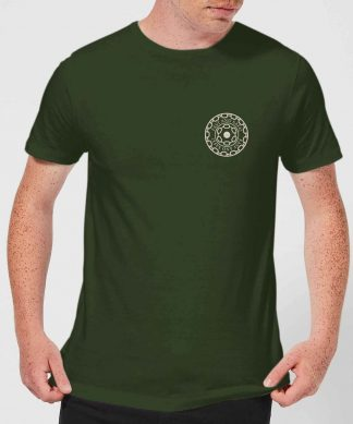 Crystal Maze Fast And Safe Pocket Men's T-Shirt - Forest Green - XS - Forest Green chez Casa Décoration