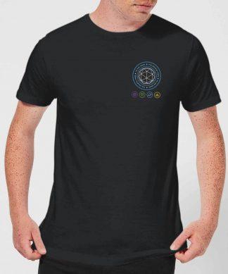 Crystal Maze Crystal Pocket Men's T-Shirt - Black - XS - Noir chez Casa Décoration