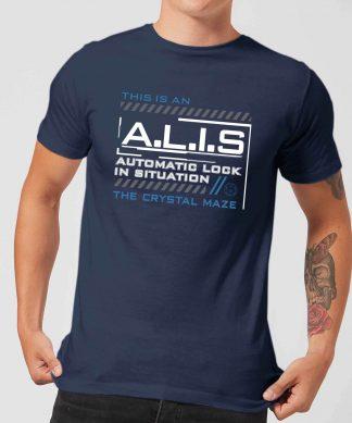 Crystal Maze A.L.I.S. Men's T-Shirt - Navy - XS - Navy chez Casa Décoration