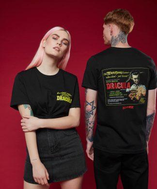 T-shirt Hammer Dracula 1 - Noir - XS - Noir chez Casa Décoration