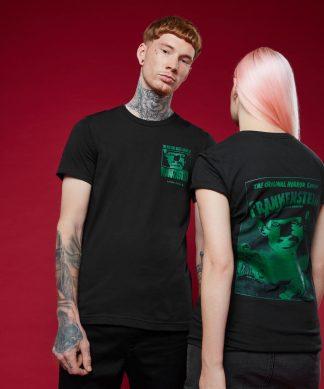 T-shirt Frankenstein - Noir - XS chez Casa Décoration
