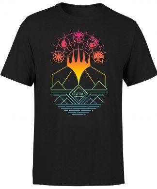 Magic The Gathering Colour Linework Design Men's T-Shirt - Black - XS - Noir chez Casa Décoration