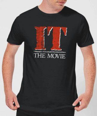 IT Men's T-Shirt - Black - XS - Noir chez Casa Décoration