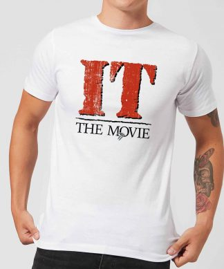 IT The Movie Men's T-Shirt - White - XS - Blanc chez Casa Décoration