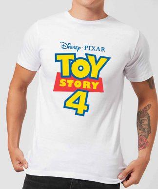 Toy Story 4 Logo Men's T-Shirt - White - XS - Blanc chez Casa Décoration