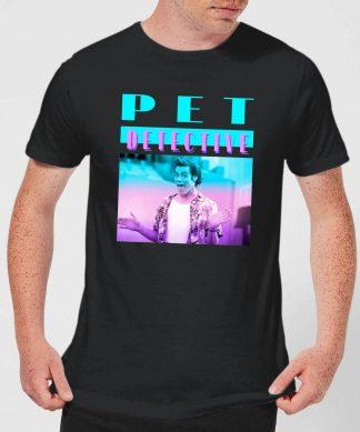 Ace Ventura Neon Men's T-Shirt - Black - XS - Noir chez Casa Décoration