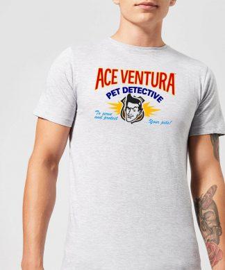 Ace Ventura Serve And Protect Your Pets Men's T-Shirt - Grey - XS - Gris chez Casa Décoration