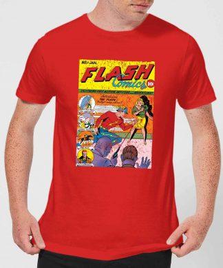 Justice League The Flash Issue One Men's T-Shirt - Red - XS - Rouge chez Casa Décoration