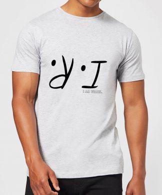 I Am Weasel I.R. Men's T-Shirt - Grey - XS - Gris chez Casa Décoration