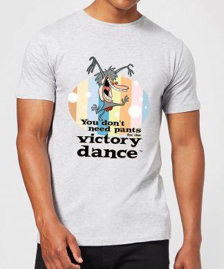 I Am Weasel You Don't Need Pants For The Victory Dance Men's T-Shirt - Grey - XS - Gris chez Casa Décoration