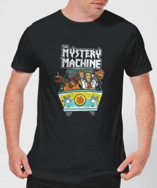Scooby Doo Mystery Machine Heavy Metal Men's T-Shirt - Black - XS - Noir chez Casa Décoration