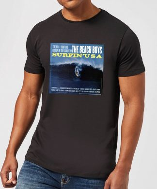 The Beach Boys Surfin USA Men's T-Shirt - Black - XS chez Casa Décoration