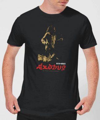 Bob Marley Exodus Men's T-Shirt - Black - XS - Noir chez Casa Décoration