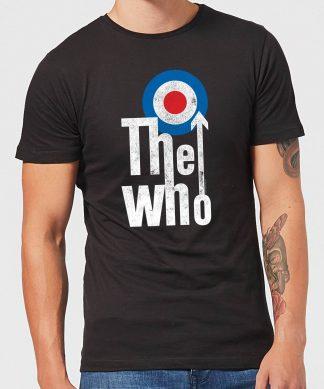 The Who Target Logo Men's T-Shirt - Black - XS - Noir chez Casa Décoration