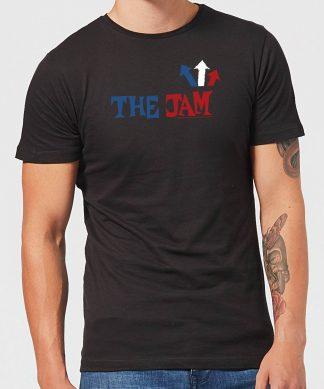 The Jam Text Logo Men's T-Shirt - Black - XS - Noir chez Casa Décoration