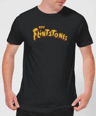 The Flintstones Logo Men's T-Shirt - Black - XS - Noir chez Casa Décoration