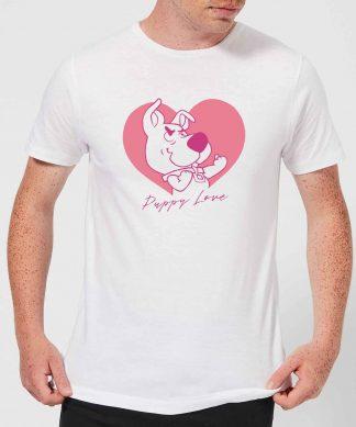 Scooby Doo Puppy Love Men's T-Shirt - White - XS - Blanc chez Casa Décoration