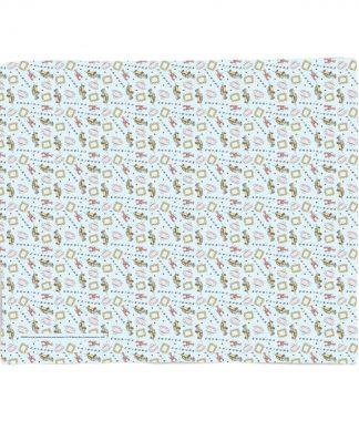 Friends Cool Tone Pattern Fleece Blanket - S chez Casa Décoration