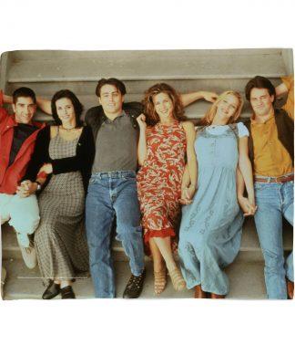 Friends Group Shot Fleece Blanket - S chez Casa Décoration