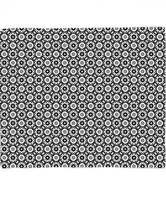 in homeware x Charlotte Greedy Tiled Fleece Blanket - S chez Casa Décoration