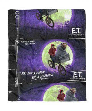 E.T. the Extra-Terrestrial Film Reel Fleece Blanket - S chez Casa Décoration