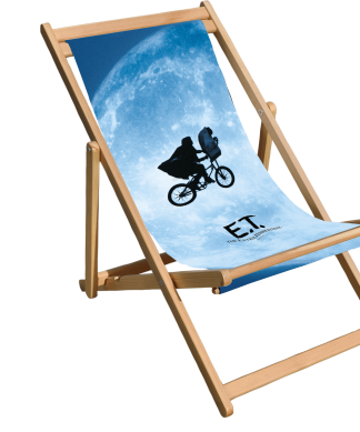 E.T. the Extra-Terrestrial Over The Moon Deck Chair chez Casa Décoration