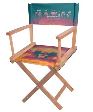 Decorsome x Back To The Future Delorean Directors Chair chez Casa Décoration