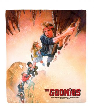 Plaid The Goonies Retro Poster Art - M chez Casa Décoration