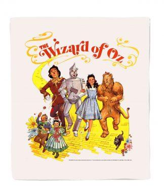 Le Magicien d'Oz Poster Couverture Polaire - M chez Casa Décoration
