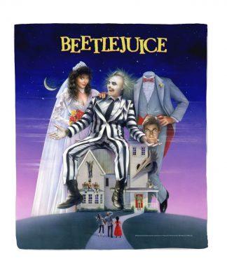 Beetlejuice Poster Couverture Polaire - M chez Casa Décoration