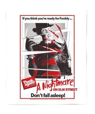 A Nightmare On Elm Street Freddy Kreuger Couverture Plaid - M chez Casa Décoration