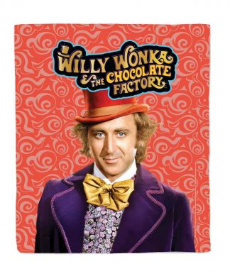 Willy Wonka & the Chocolate Factory Bed Throw chez Casa Décoration