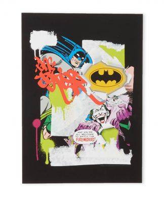 Batman Collage Impression d'art Giclée - A3 - White Frame chez Casa Décoration