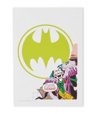 Batman Question Impression d'art Giclée - A4 - Black Frame chez Casa Décoration