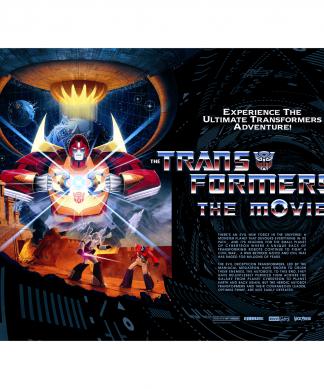 Transformers 30x40  Lithograph Print Quad Variant by Matt Ferguson chez Casa Décoration