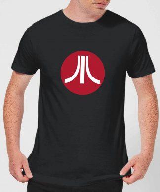 T-Shirt Homme Logo Cercle Atari - Noir - XS - Noir chez Casa Décoration