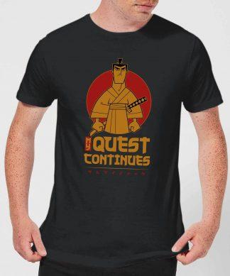 Samurai Jack My Quest Continues Men's T-Shirt - Black - XS - Noir chez Casa Décoration