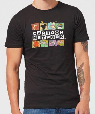 Cartoon Network Logo Characters Men's T-Shirt - Black - XS - Noir chez Casa Décoration