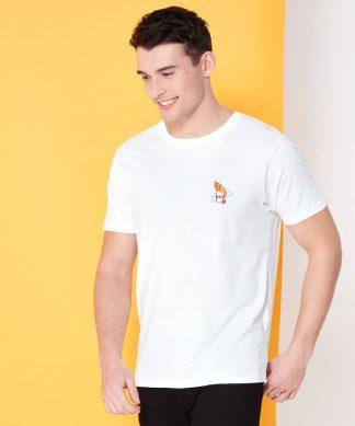 Cartoon Network Spin Off T-Shirt Johnny Bravo 90's - Blanc - XS - Blanc chez Casa Décoration