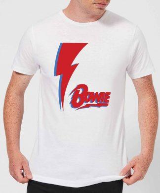 David Bowie Bolt Men's T-Shirt - White - XS chez Casa Décoration