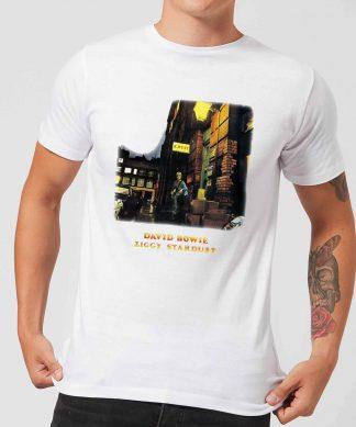 David Bowie Ziggy Stardust Men's T-Shirt - White - XS - Blanc chez Casa Décoration