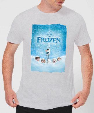 T-Shirt Homme La Reine des Neiges - Affiche La Reine des Neiges - Gris - XS - Gris chez Casa Décoration