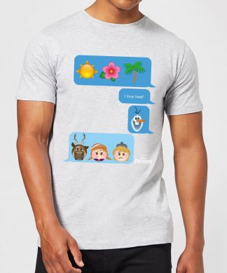 T-Shirt Homme La Reine des Neiges - SMS - Gris - XS - Gris chez Casa Décoration
