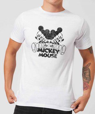 T-Shirt Homme Mickey Mouse dans Miroir - Blanc - XS - Blanc chez Casa Décoration